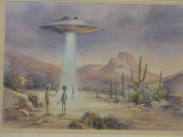 By customer bruce that looks like it belongs inthe ufo roswell museum