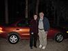 Bill, Linda and pumpkin car 1.jpg (39602 bytes)